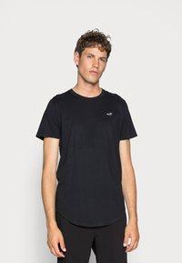 Hollister Co. - 3 PACK - Basic T-shirt - white/ grey /black - 2