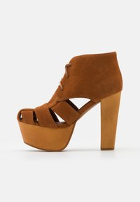 Jeffrey Campbell - FORD - Lace-up ankle boots - tan - 1