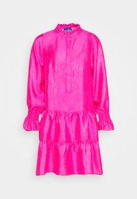 Cras - SELMACRAS DRESS - Sukienka letnia - magenta - 5