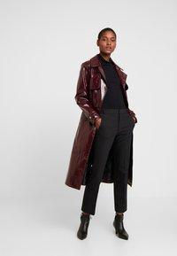 InWear - ZELLA KICKFLARE PANT - Trousers - black - 2