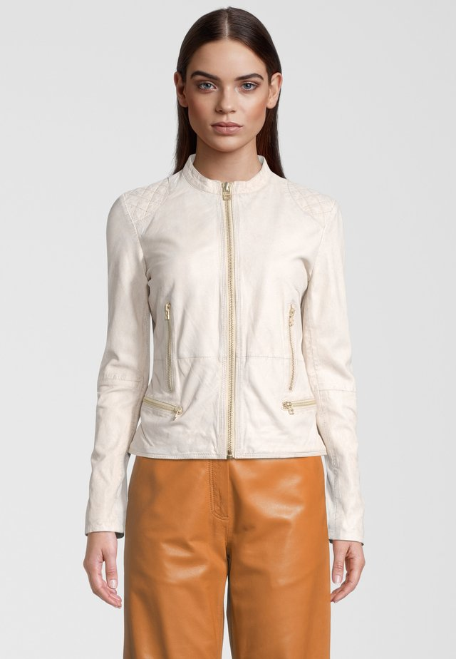 SUPERNOVA  - Leren jas - antique white