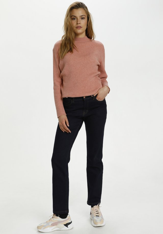 MOLLYSZ  - Jeans a sigaretta - dark blue denim