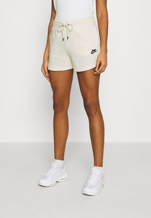 Shorts - coconut milk/black