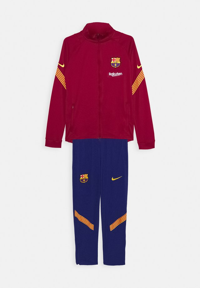 FC BARCELONA DRY SUIT - Article de supporter - noble red/amarillo