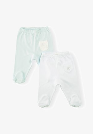 2 PACK - Trousers - light blue
