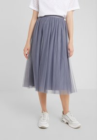 Needle & Thread - DOTTED SKIRT - A-Linien-Rock - thistle blue - 0