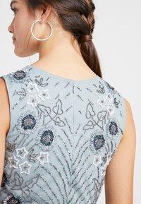 Lace & Beads Petite - NARA SKATER - Koktejlové šaty/ šaty na párty - teal - 5