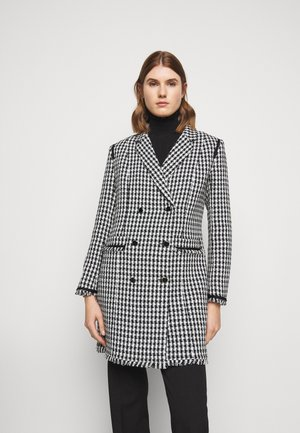 ROLIM - Short coat - white/black