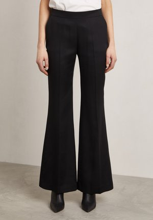 RON - Trousers - dark evening black