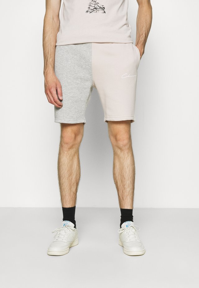 SPLICED SHORT - Shorts - stone