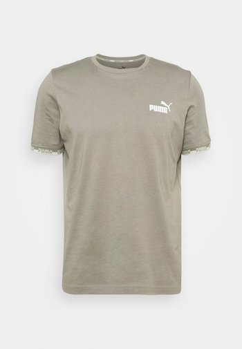 AMPLIFIED TEE - Print T-shirt - vetiver