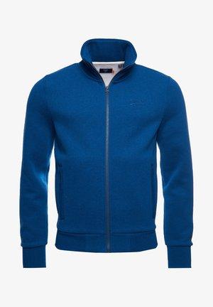 Zip-up sweatshirt - dark cobalt marl