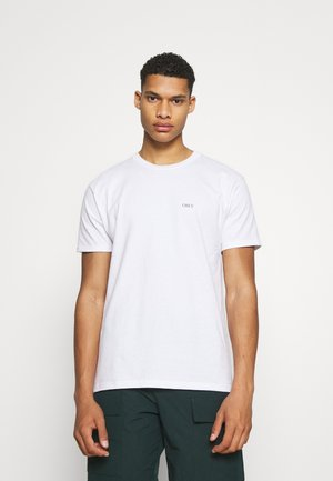 RISE ABOVE ROSE - Printtipaita - white