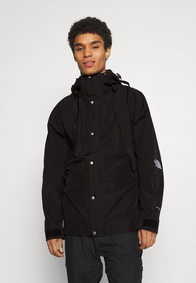 RETRO MOUNTAIN FUTURE LIGHT JACKET - Summer jacket - black