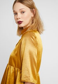 Object - OBJJUNE DRESS - Robe d'été - buckthorn brown - 4