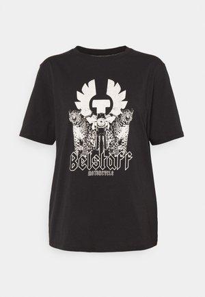 LEOPARD BIKER - T-shirt print - black