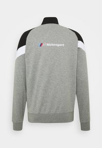 Puma - BMW MMS JACKET - Training jacket - medium gray heather - 1