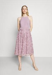 Esprit Collection - DRESS - Cocktail dress / Party dress - mauve - 0