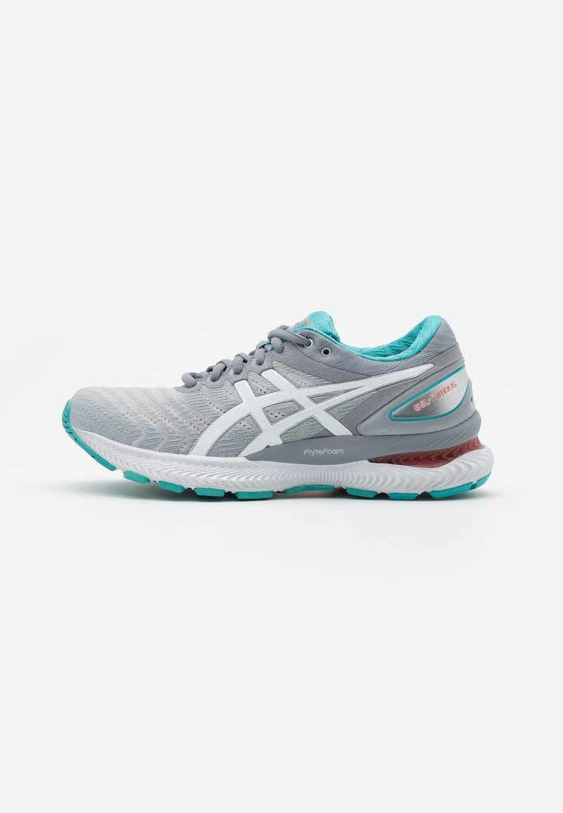 ASICS - GEL-NIMBUS 22 - Neutral running shoes - sheet rock/white