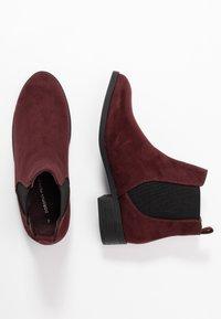 Dorothy Perkins - MORGAN CHELSEA  - Boots à talons - burgundy - 3