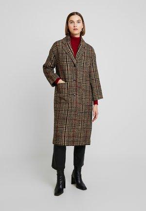 JOSEPHA COAT - Zimní kabát - brown