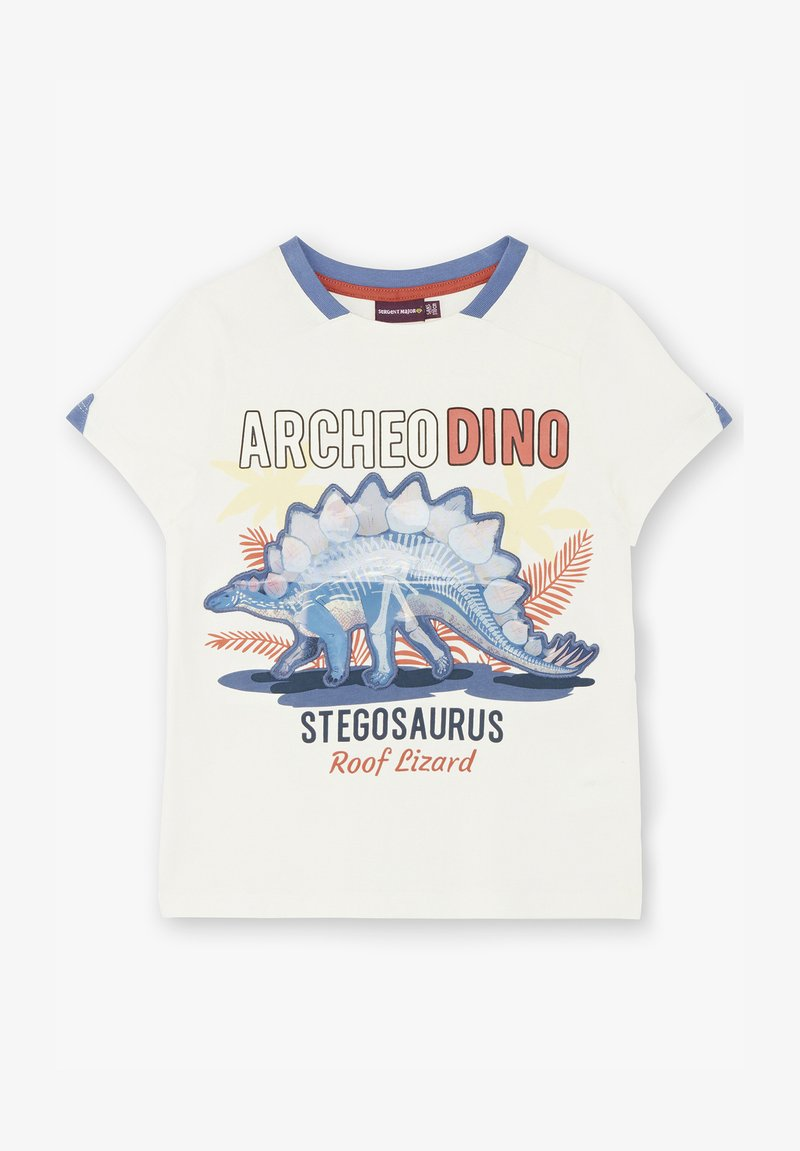 Sergent Major - Print T-shirt - off white