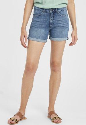 IHTWIGGY DENIM - Denim shorts - medium blue