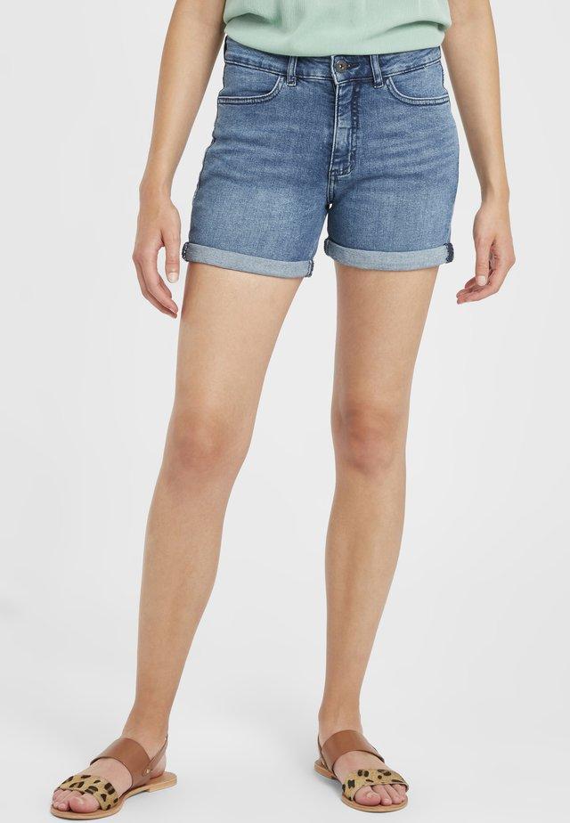 IHTWIGGY DENIM - Shorts di jeans - medium blue