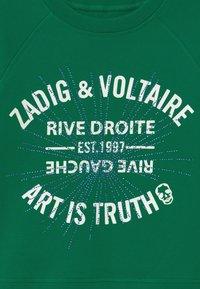 Zadig & Voltaire - Sweatshirt - dark green - 2