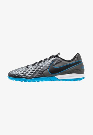 TIEMPO LEGEND 8 ACADEMY TF - Astro turf trainers - black/blue hero