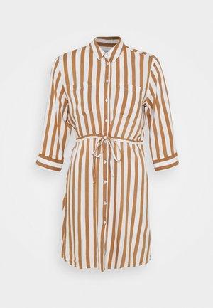 ONLTAMARI DRESS - Abito a camicia - cloud dancer/beige