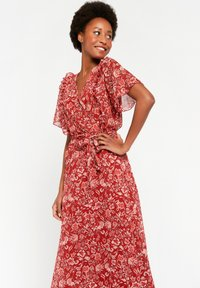 LolaLiza - WITH FLOWER PRINT - Maxi dress - red - 4