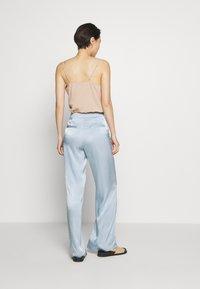 Bruuns Bazaar - SOFIA TELMA PANT - Pantalones - blue mist - 2