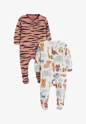 2 PACK  - Pyjamas - orange