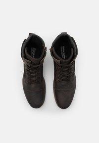 River Island - Šněrovací kotníkové boty - brown - 3