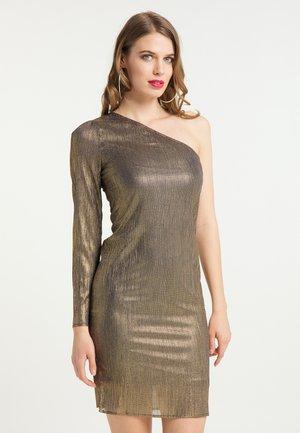 Cocktail dress / Party dress - schwarz gold