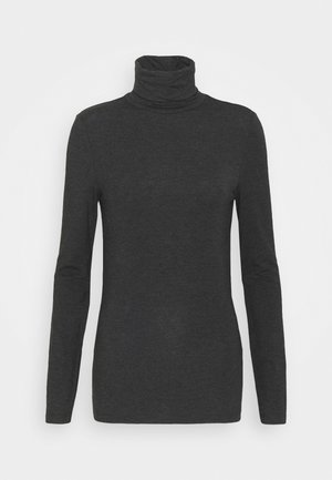 VMAVA LULU ROLLNECK - T-shirt à manches longues - dark grey melange