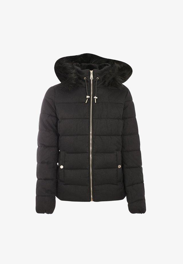 Gewatteerde jas - noir