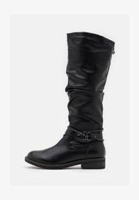 Tamaris - BOOTS - Støvler - black - 1