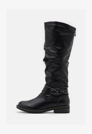 BOOTS - Stivali alti - black