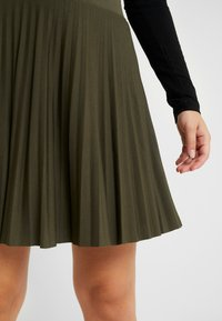 Anna Field Petite - A-line skirt - olive night - 4
