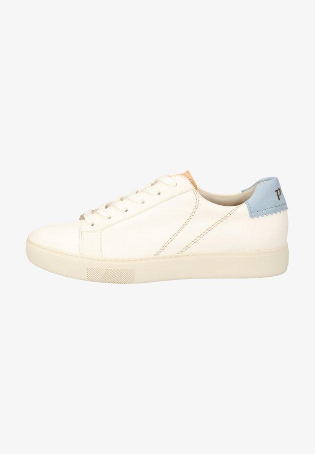 Sneakers laag - weiß/hellgrau