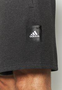adidas Performance - MUST HAVE ENHANCED ATHLETICS SPORT SHORTS - Korte sportsbukser - black melange - 5