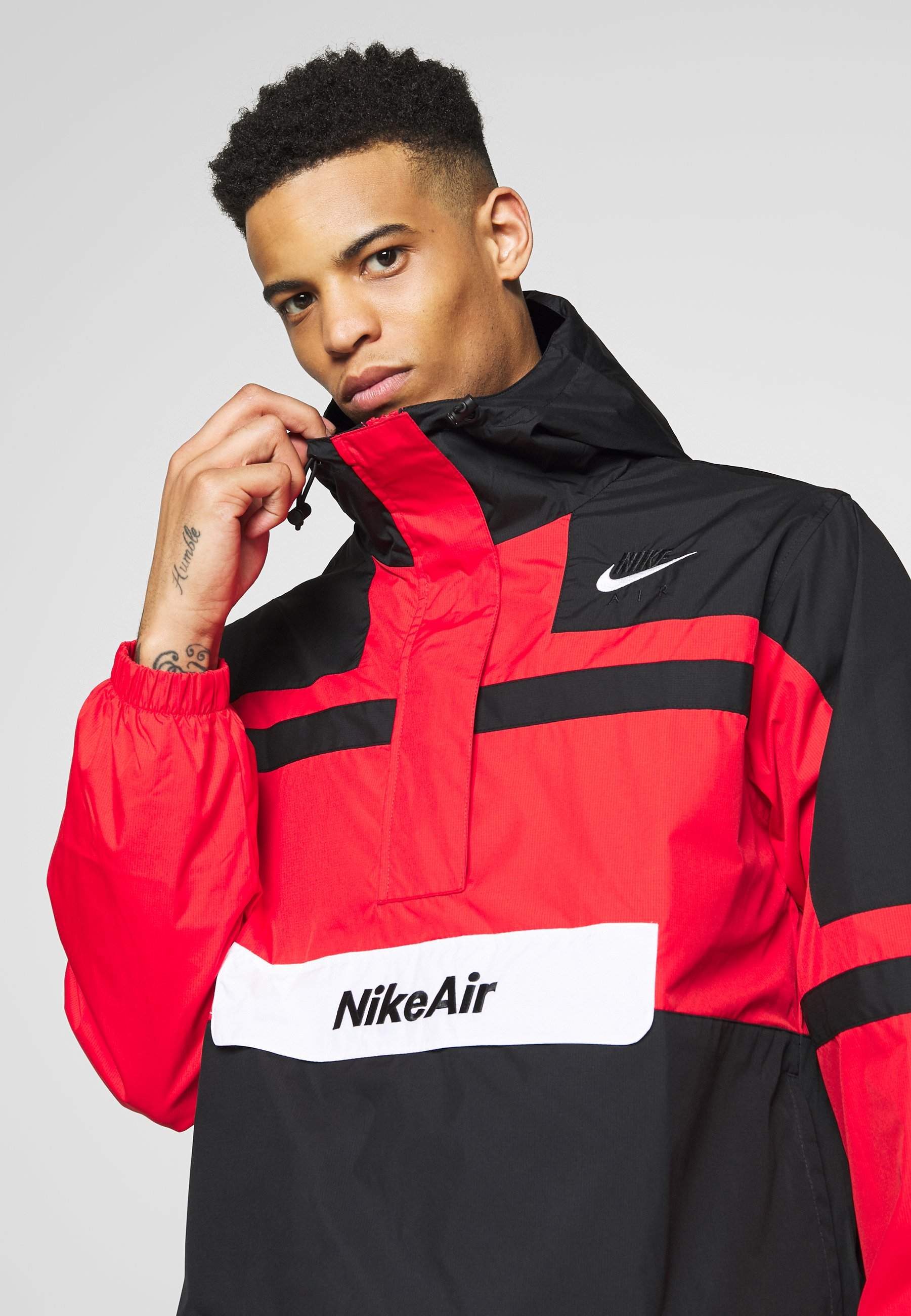 Nike Sportswear M NSW NIKE AIR JKT WVN - Veste coupe-vent - university red/black/white