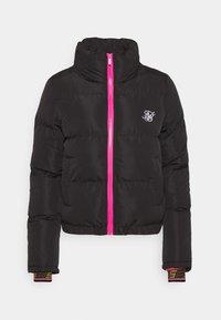 SIKSILK - ROMA CROP JACKET - Winter jacket - black - 4