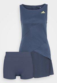 adidas Performance - DRESS - Sports dress - crenav/aciyel - 0