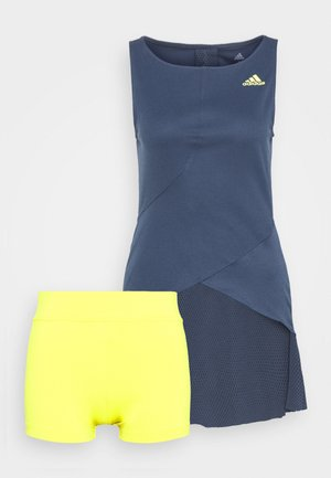 DRESS - Sportovní šaty - crenav/aciyel