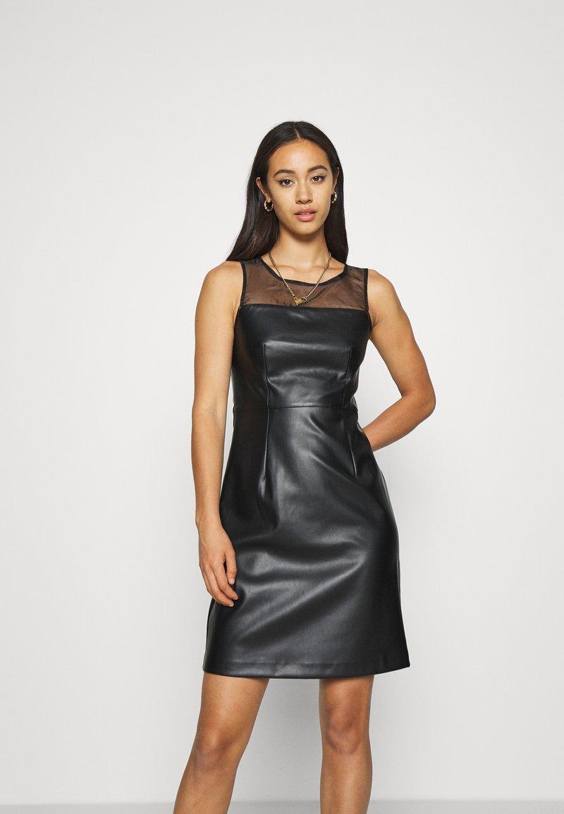 ONLY - ONLVIBE MIX DRESS - Kjole - black