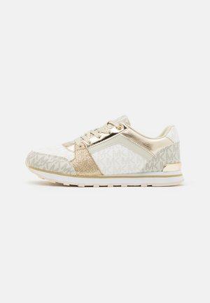 BILLIE JOGGER - Sneaker low - vanilla/gold