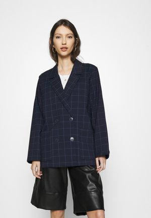TWIGGY - Short coat - dark blue